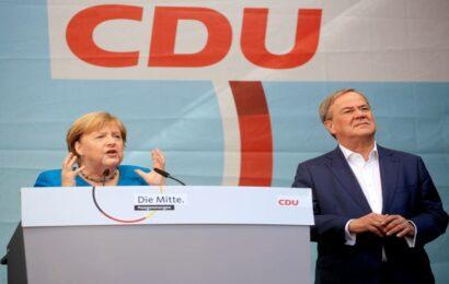 Germans vote in close election to decide Merkel successor