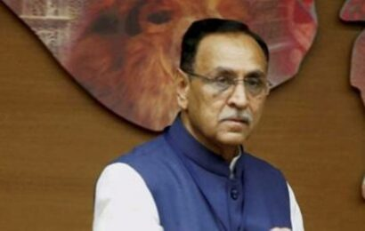 Gift items received by Vijay Rupani auctioned for Rs 6 lakh in Surat