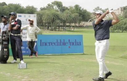 Golconda Masters golf | Manu sizzles, goes five shots clear