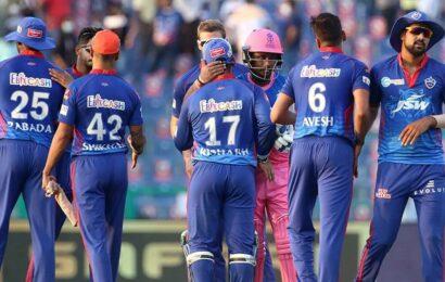 IPL 2021: DC bowlers script 33-run win over RR