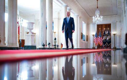 In Afghan withdrawal, a Biden doctrine surfaces