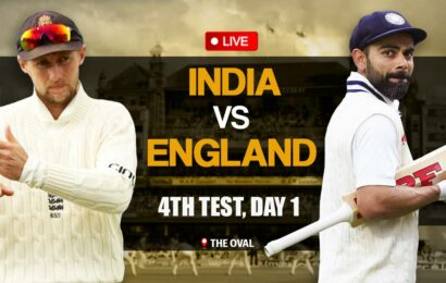 India vs England 4th Test Match, Day 1 Live Score: England win toss, opt to field