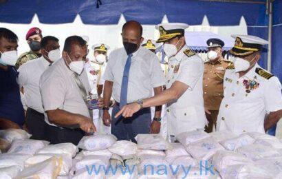 Indian agencies track huge heroin seizure off Sri Lanka