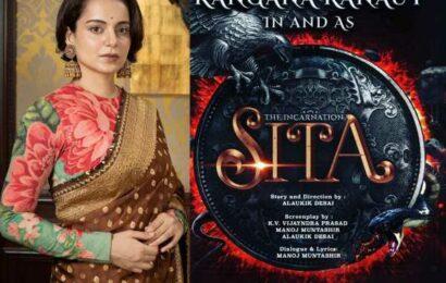 Kangana Ranaut announces The Incarnation- Sita