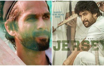 Nani on Shahid Kapoor doing Jersey's Hindi remake: 'He is brilliant'