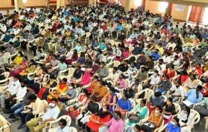 Over 5k registered at job mela held by Hyderabad police