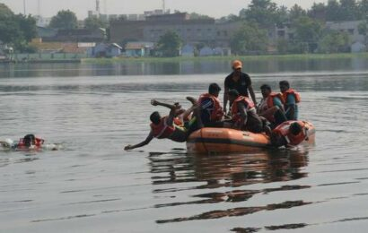 Police personnel trained in disaster management