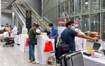 RT-PCR test now must for passengers arriving from seven more countries