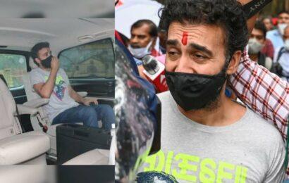 Raj Kundra releases on bail