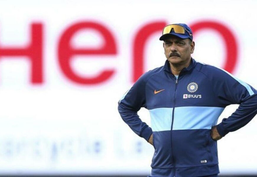 Ravi Shastri defends book launch, says whole of UK is open