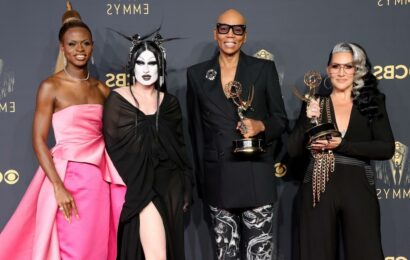 RuPaul Makes Emmys History for Most Wins by a Black Artist