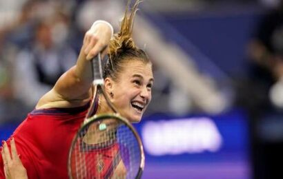 Sabalenka bulldozes Krejcikova to reach U.S. Open semis