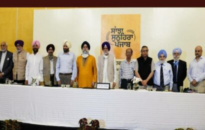 Sanjha Sunehra Punjab Manch holds talks on issues plaguing Ludhiana