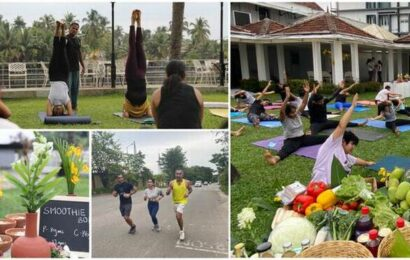 Socials for the soul: a peek into a new-age wellness retreat