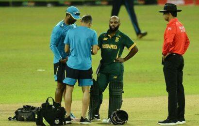 South Africa captain Bavuma out of Sri Lanka series, Maharaj to lead