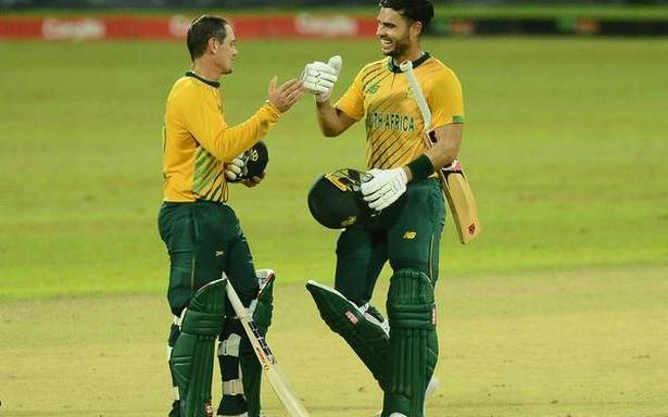 South Africa completes 3-0 T20 series sweep over Sri Lanka