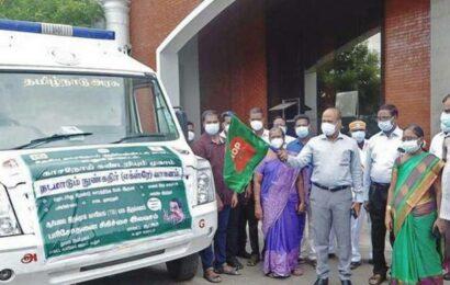 TB screening vehicle flagged off in Cuddalore