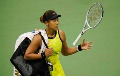 Tearful Osaka to take break from tennis after U.S. Open shock loss