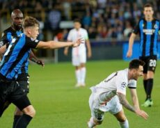 UEFA Champions League   Messi and PSG held by Brugge; City, Liverpool, Madrid win