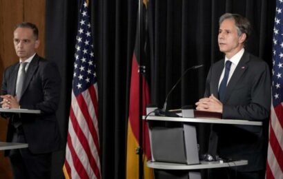 US, Germany press for Iran to return soon to nuclear talks