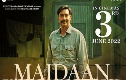 Ajay Devgn's 'Maidaan' to release theatrically in June 2022