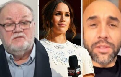 Alex Beresford slams Meghan Markle's father for 'slating' Duchess on GMB