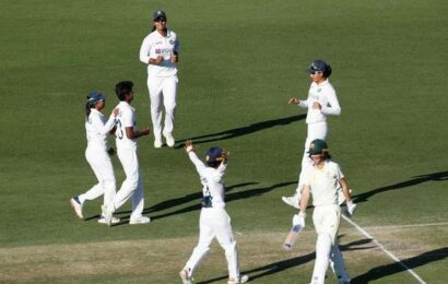 Aus W vs Ind W pink ball Test   Australia declare after Indian pacers reduce hosts to 241/9