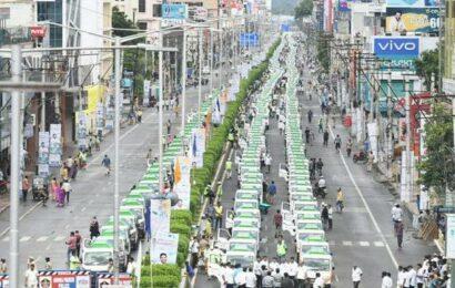 CM Jagan launches 'Clean Andhra Pradesh' initiative'