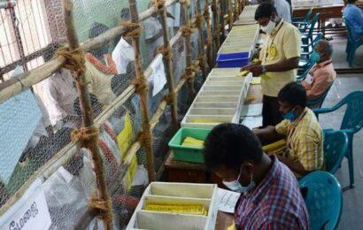 DMK leads in Tirumangalam