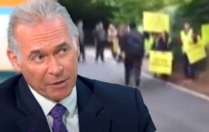 Dr Hilary Jones' country home targeted by 'vicious anti-vaxxers' amid his support for jab