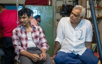 Hansal Mehta thanks the universe as Scam 1992 completes one year, shares unseen BTS photos