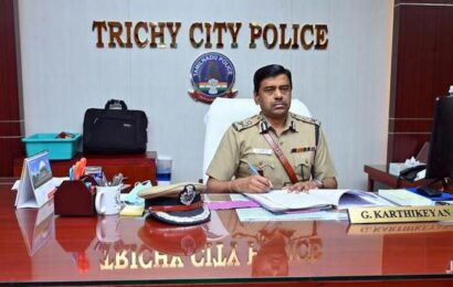 New CoP takes charge in Tiruchi