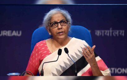 Nirmala Sitharaman says India is near to double digit!!