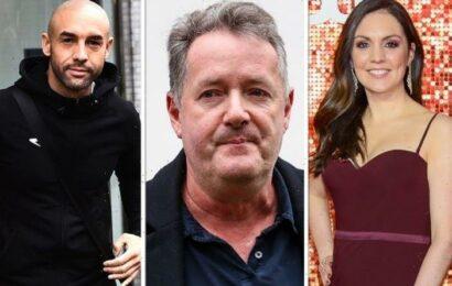 Piers Morgan gushes over 'loyal' GMB host Laura Tobin as he takes aim at Alex Beresford
