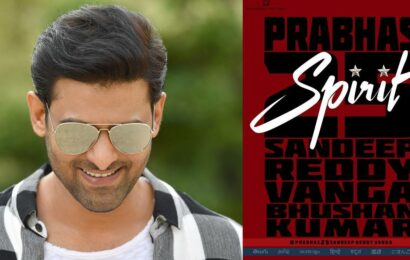 Prabhas to star in Arun Reddy director Sandeep Reddy Vanga's Spirit