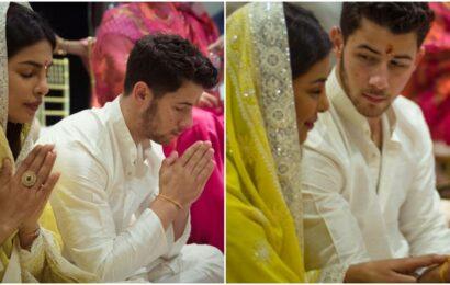 Priyanka Chopra says Nick Jonas asks her to do a puja before starting anything big: 'We align on that'
