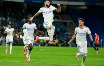Real Madrid wallops Mallorca