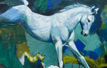 Rediscover horses through art