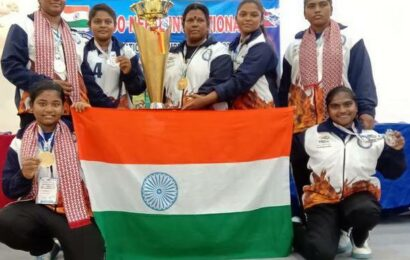 Six Madurai girls bag medals in weightlifting tournament