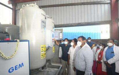 Two new PSA oxygen generator plants at GRH