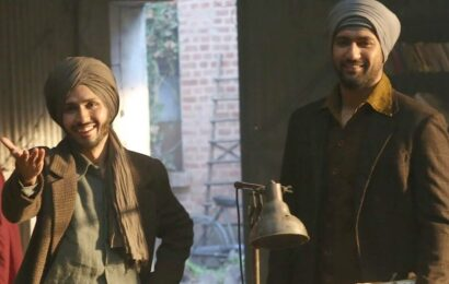 Vicky Kaushal reveals Amol Parashar's first look as Bhagat Singh in Sardar Udham: 'Mera Bhagatya'