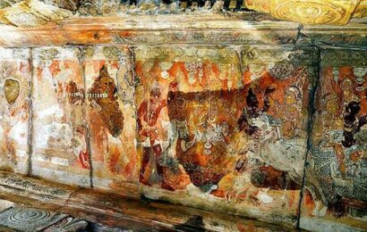 Writer urges Centre to restore paintings at Lepakshi